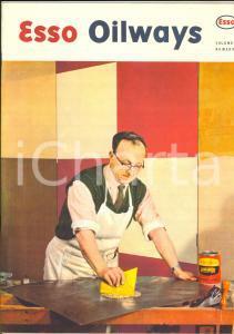 1970 ca ESSO OILWAYS I vecchi pneumatici *Rivista n° 6 ILLUSTRATA 24 pp.