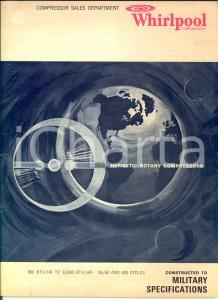 1970 ca WHIRLPOOL Corporation -  Hermetic rotary compressors *Catalogue