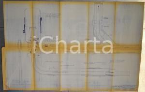 1970 OFFICINE GALILEO MILANO Indicatore di livello a vasi comunicanti *Schema