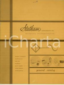 1960 ca LOS ANGELES (CA) STATHAM Instruments - General catalog ILLUSTRATED