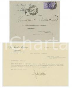 1932 VIGEVANO Avv. Guido MUSSINI attende campionario *Sconosciuto al mittente