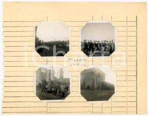 1942 WW2 PALERMO Ufficio movimento AUTIERI - Militari in sfilata *Lotto 4 foto