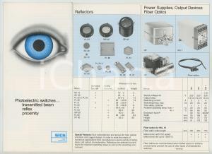 1980 ca  SICK Optic Elektronik - Photoelectric switches *Pieghevole ILLUSTRATO