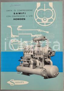 1970 ca MILANO Ditta SAMIFI Unità di compressione con compressori a vite HOWDEN