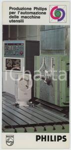 1980 ca PHILIPS Produzione per automazione macchine utensili *Pieghevole