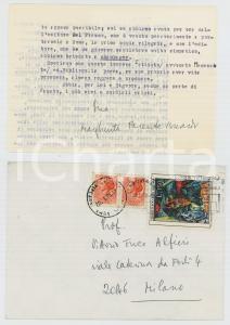 1978 ROMA Margherita ISNARDI PARENTE cerca editore per il suo libro *AUTOGRAFO