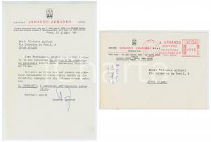 1981 ROMA Editore ARMANDO ARMANDO ringrazia Vittorio Enzo ALFIERI per relazione