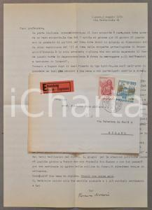 1979 LUGANO Romano AMERIO amico della verità e amante del confiteor *AUTOGRAFO