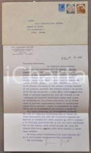 1981 MILANO Prof. Giovanni GIRALDI critica LOMBARDO RADICE *AUTOGRAFO
