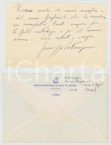 1980 ASSISI Istituto Magistrale BONGHI Ringraziamenti prof. Giuseppe CATANZARO