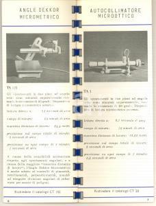1965 HILGER & WATTS Autocollimatori ad azionamento manuale / fotoelettrici