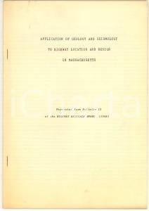 1948 G. H. DELANO Application of geology to highway location in MASSACHUSSETS