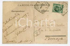 1907 TERME DI BOBBIO - S. AMBROGIO Stabilimento *Cartolina Gustavo DELLA CELLA