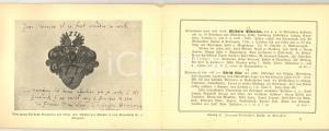 1900 ca MUNCHEN Jacques ROSENTHAL Buch-Antiquariat *Katalog 41 DANNEGGIATO