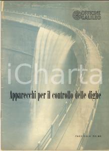 1980 ca MILANO OFFICINE GALILEO Federico ZANNINI Apparecchi controllo dighe *1