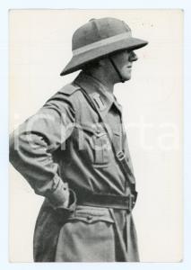 1978 Reggimento Volontari GIOVANI FASCISTI Cartolina magg. Fulvio BALISTI FP VG