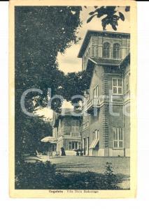 1942 COGOLETO (GE) Veduta della villa del DIVIN REDENTORE *Cartolina FP NV