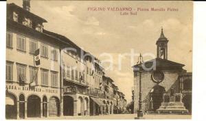 1925 FIGLINE VALDARNO Piazza Marsilio FICINO e Cassa di Risparmio di Firenze