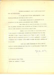 1965 MILANO Francesco MELZI D'ERIL si difende dall'accusa di fascismo *Autografo