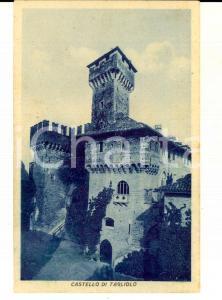 1942 TAGLIOLO MONFERRATO (AL) Veduta del castello *Cartolina FP VG