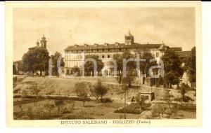 1939 FOGLIZZO (TO) Veduta esterna dell'Istituto Salesiano *Cartolina postale FP