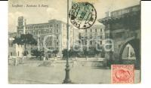 1920 CAGLIARI Bastione S. REMY *Cartolina postale vintage FP VG