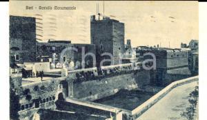 1927 BARI Veduta del Castello Monumentale *Cartolina postale FP VG
