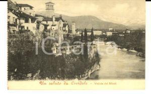 1920 ca CIVIDALE (UD) Veduta panoramica dei Monti *Cartolina postale FP NV