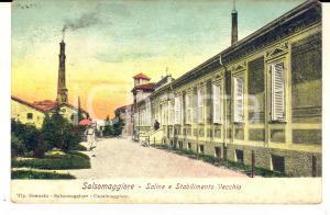 1905 SALSOMAGGIORE (PR) Saline e Stabilimento Vecchio *Cartolina FP VG