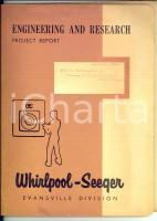 1959 WHIRLPOOL-SEEQUER Analysis for household compressor *Fascicolo con tavole