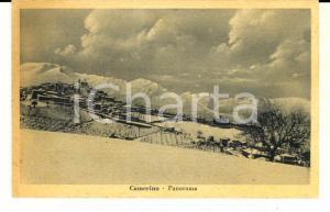1930 ca CAMERINO (MC) Panorama invernale *Cartolina postale VINTAGE FP NV