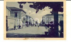1930 ca BELLARIA (RN) Piazza Vittorio Emanuele *Cartolina ANIMATA FP NV