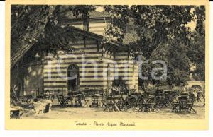 1940 ca IMOLA (BO) Parco Acque Minerali *Cartolina postale ANIMATA FP NV