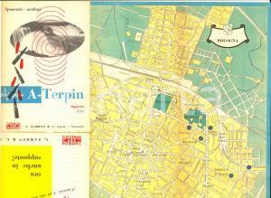1956 Farmaceutica ZAMBON -  A-TERPIN Ipoacusie *Mappa BOLOGNA pubblicitaria