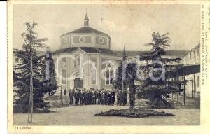 1933 CESANO BOSCONE Ospizio SACRA FAMIGLIA per incurabili - Chiesa *Cartolina
