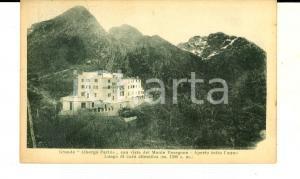 1929 LECCO Grande Albergo PERTUS con MONTE RESEGONE *Cartolina FP VG