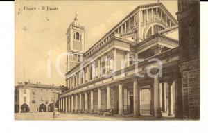 1917 NOVARA Veduta del Duomo *Cartolina ANIMATA automobile FP VG