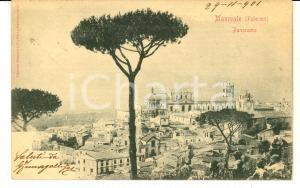 1901 MONREALE (PA) Panorama generale *Cartolina postale FP VG