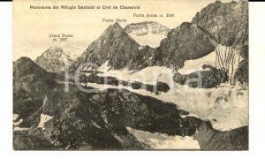 1932 BALME (TO) Rifugio GASTALDI al CROT DE CIAUSSINE' *Cartolina FP VG