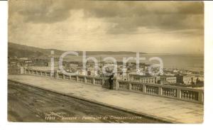 1928 MESSINA Panorama dalla circonvallazione *Cartolina postale FP VG
