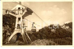 1940 RAPALLO Funivia per Santuario Nostra Signora di MONTALLEGRO *Cartolina