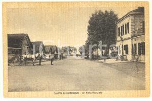 1941 SAN CARLO CANAVESE Campo di esperienze militari - 6° baraccamento Cartolina