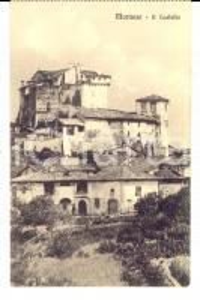 1920 ca MORNESE (AL) Veduta del castello *Cartolina postale FP NV