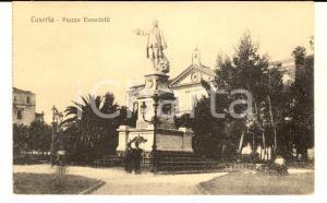 1920 ca CASERTA Piazza VANVITELLI *Cartolina postale ANIMATA FP NV