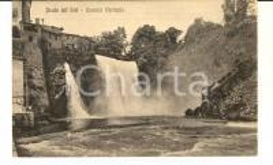 1920 ca ISOLA DEL LIRI (FR) Cascata verticale *Cartolina postale FP NV