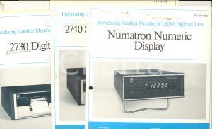 1975 MILANO LEEDS & NORTHRUP Digital printer - 2740 scanner - Numatron