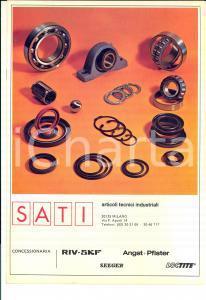 1970 ca MILANO SATI Articoli tecnici industriali *Catalogo ILLUSTRATO 16 pp.