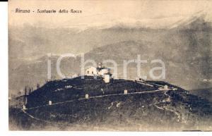 1920 ca AIRUNO (LC) Veduta del Santuario della Rocca *Cartolina FP NV