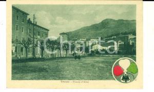 1917 TRIESTE NUOVA ITALIA REDENTA - Piazza d'Armi *Cartolina ANIMATA FP NV