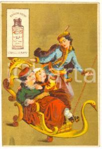 1900 ca SALTO (URUGUAY) Bouillon CIBILS HERMANOS *Figurina pubblicitaria 7x10